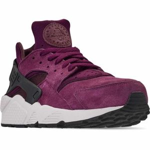 Nike Air Huarache Run Bordeaux 704830 603 Size 8
